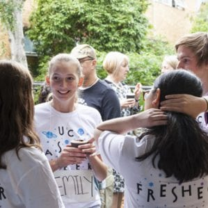 O-Week is a chance for Freshers to get to know each other and establish friendships.