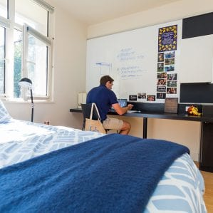 There will be a variety of room configurations, including modern loft rooms.
