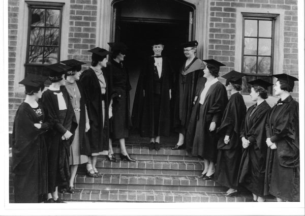 The first in take of students in 1937.