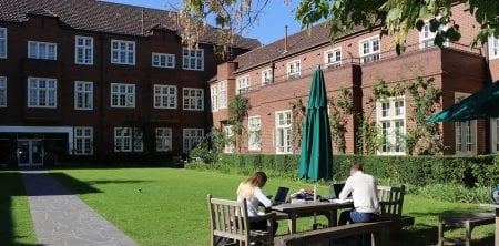 University College courtyard