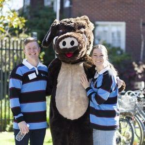 UC Boar mascot