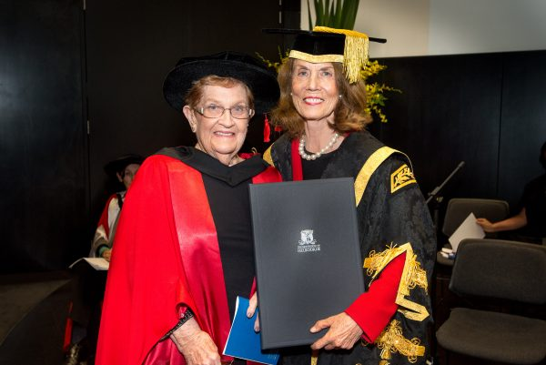 Dr Margaret Garson AO and Ms Elizabeth Alexander AM