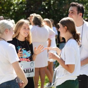 O-Week Leaders will help you with the transition
