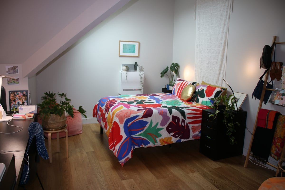 Our new rooms all have double beds and an ensuite