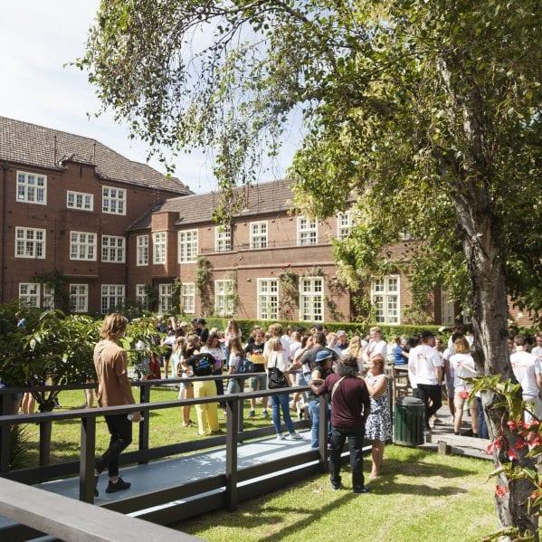 Our main courtyard