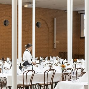 The Syme Dining Hall - a central hub for students