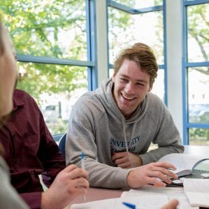 Tutorials are made up of small groups and led by young, approachable resident tutors.