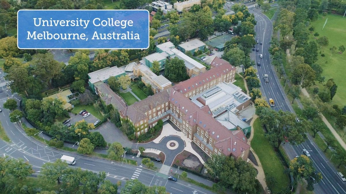 Aerial Footage UC Campus